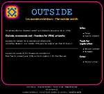 Outside, un serveur libre pour les R�vemondes, communaut� 3D interfac�e en chat Blaxxun.